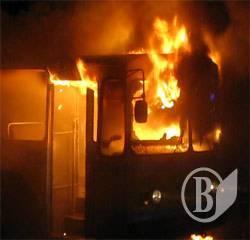 Пожежа тролейбуса